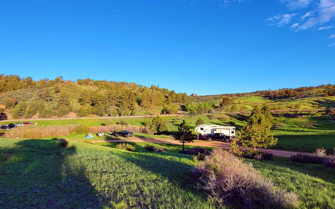 Baja Foggers at Curt Gowdy State Park – Wyoming!